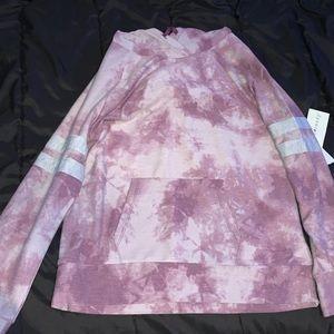 Purple Acid Wash Hoodie